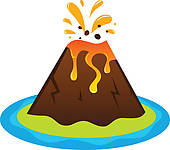 Volcano clipart #9, Download drawings