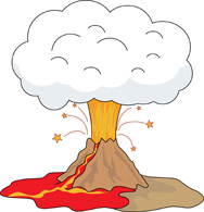Volcano clipart #5, Download drawings