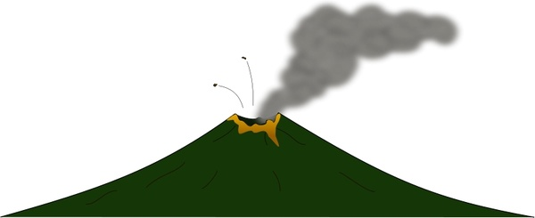 Stratovolcano svg #6, Download drawings