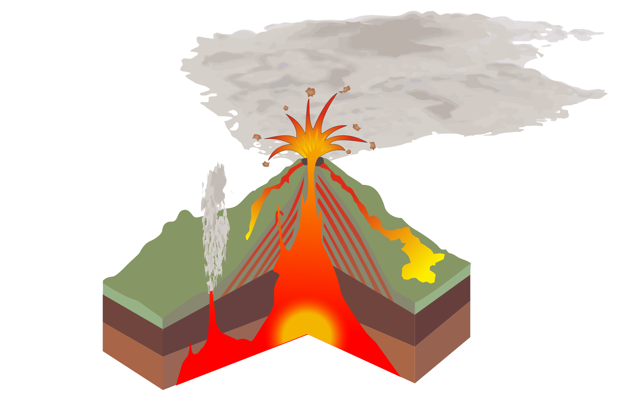 Volcano svg #17, Download drawings