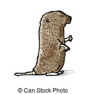 Vole clipart #1, Download drawings