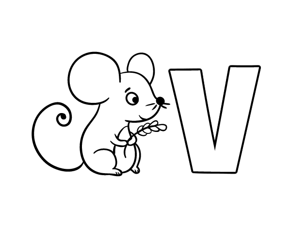 Vole coloring #18, Download drawings