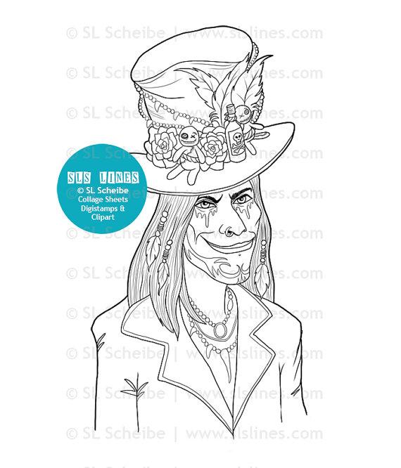 Voodoo coloring #12, Download drawings
