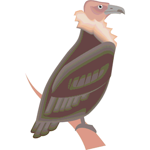 Vulture svg #15, Download drawings