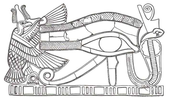 Wadjet (Deity) coloring #16, Download drawings