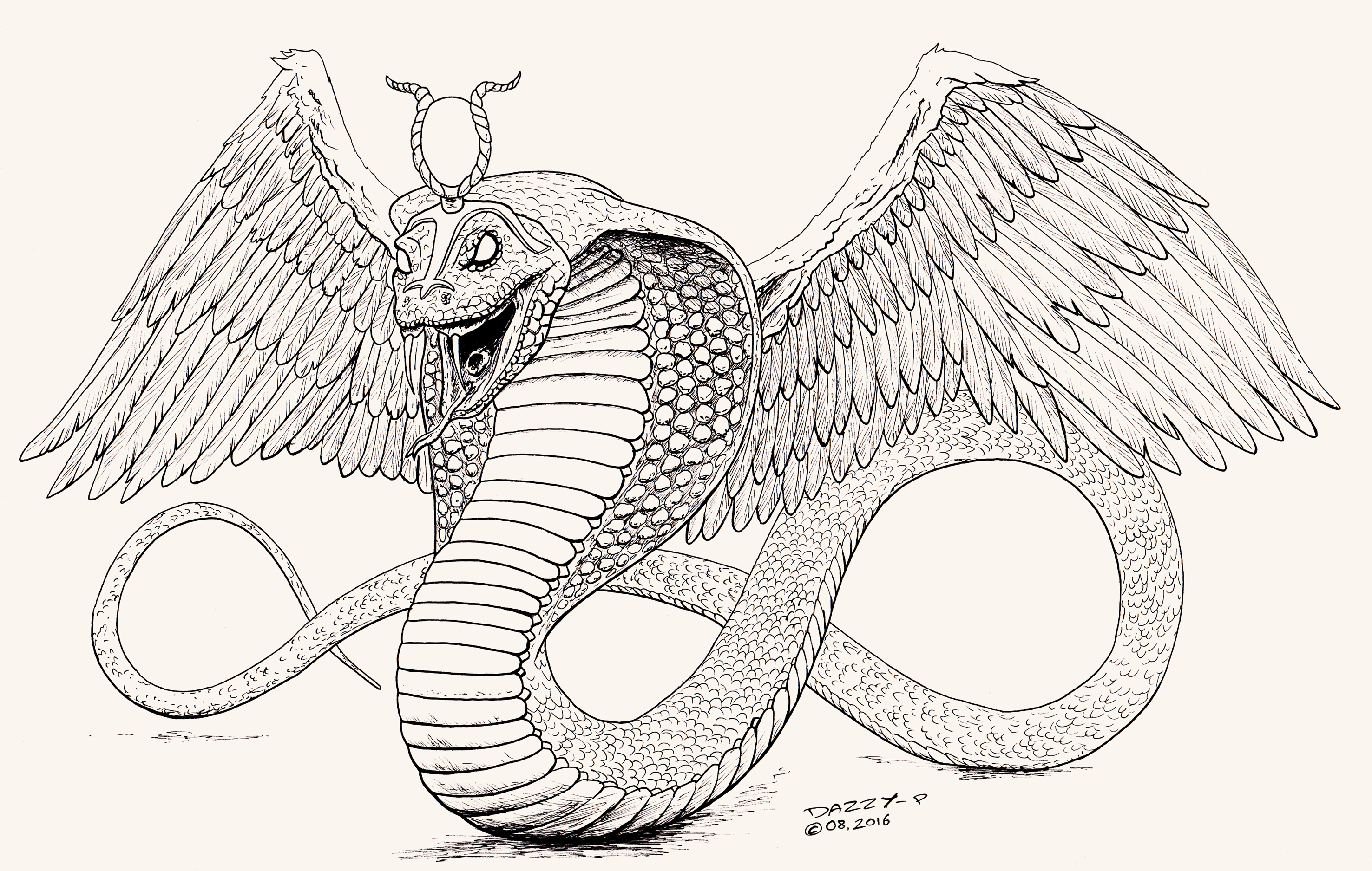 Wadjet (Deity) coloring #2, Download drawings