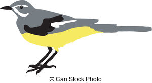 Wagtail clipart #13, Download drawings