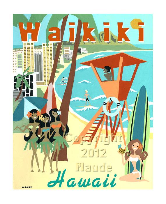 Waikiki clipart #13, Download drawings