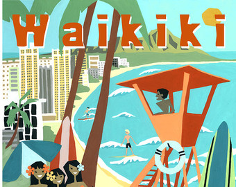 Waikiki clipart #17, Download drawings