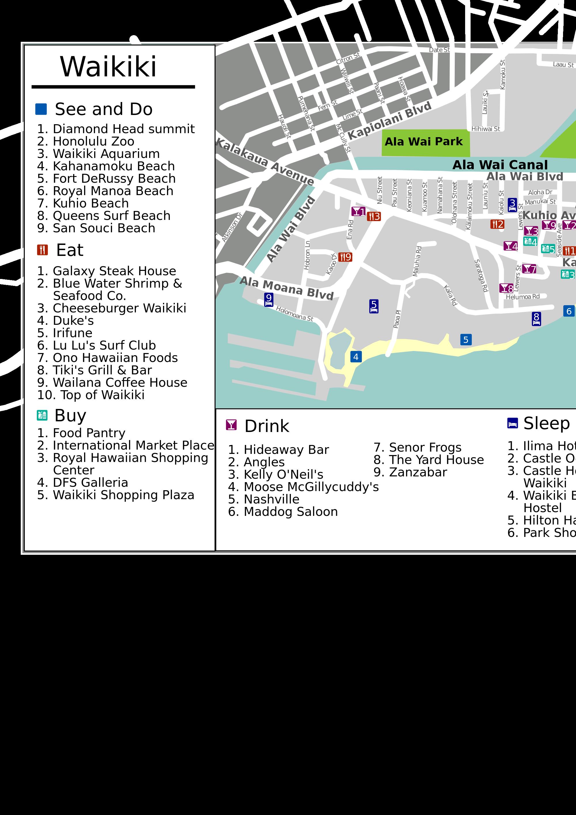 Waikiki svg #17, Download drawings