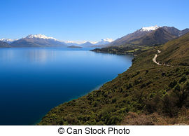 Wakatipu Lake clipart #4, Download drawings
