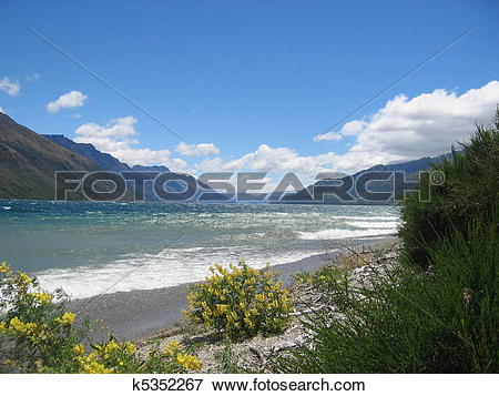 Wakatipu Lake clipart #6, Download drawings
