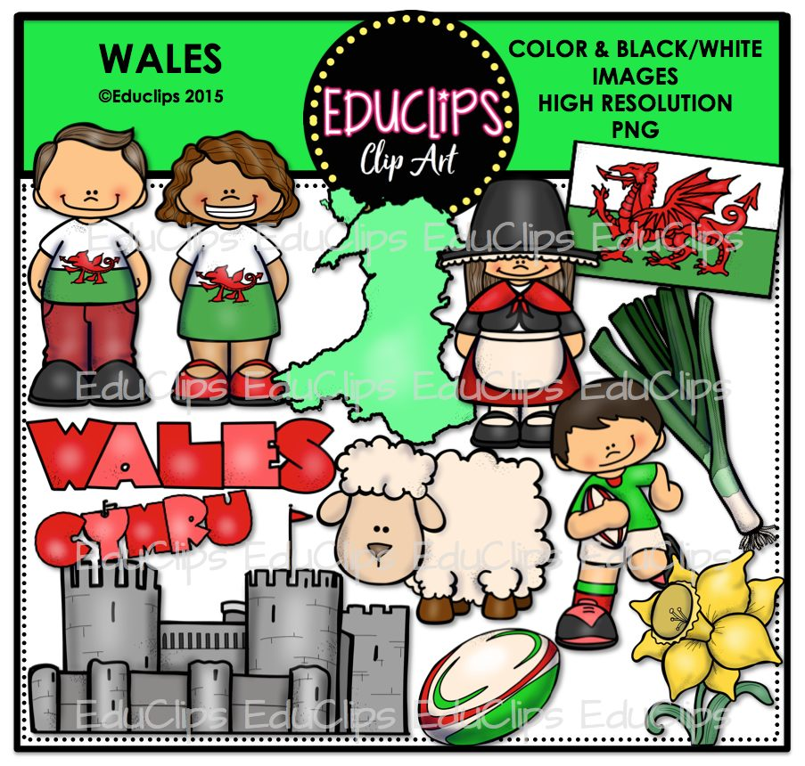 Wales clipart #7, Download drawings