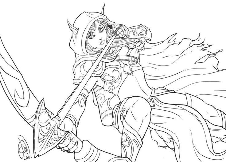 Warcraft coloring #16, Download drawings