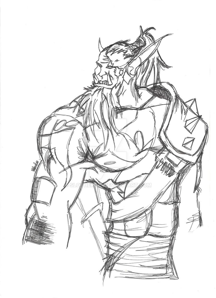 Warcraft 3 coloring #1, Download drawings