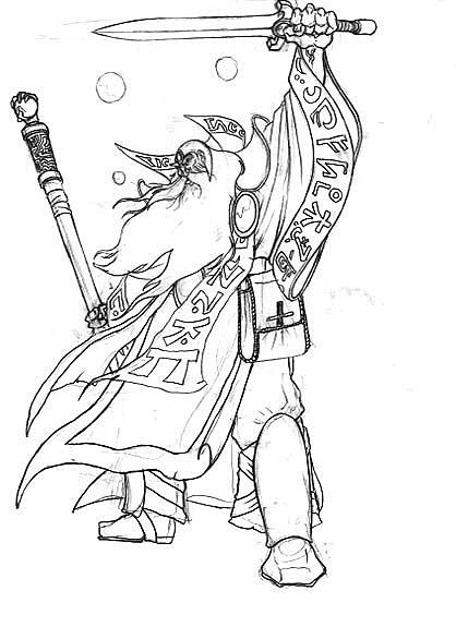 Warcraft 3 coloring #8, Download drawings