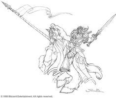 Warcraft 3 coloring #7, Download drawings