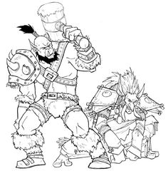 Warcraft 3 coloring #19, Download drawings