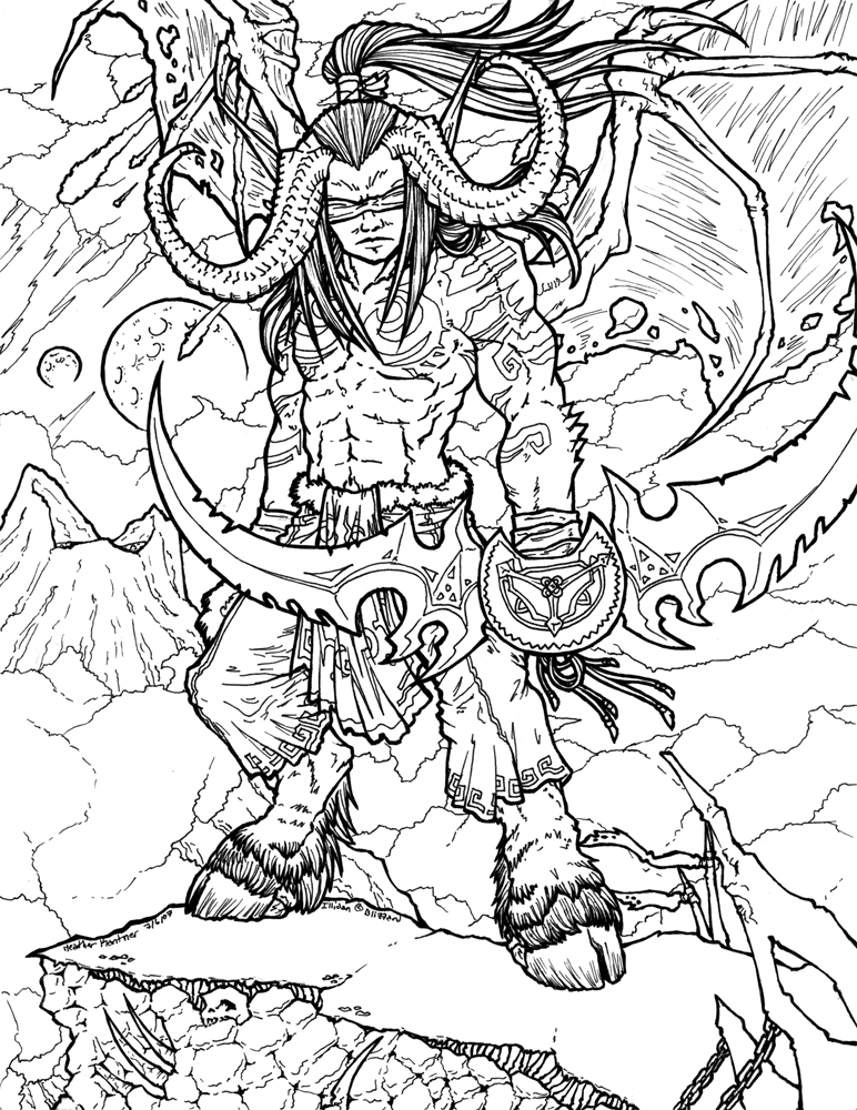 Warcraft 3 coloring #14, Download drawings