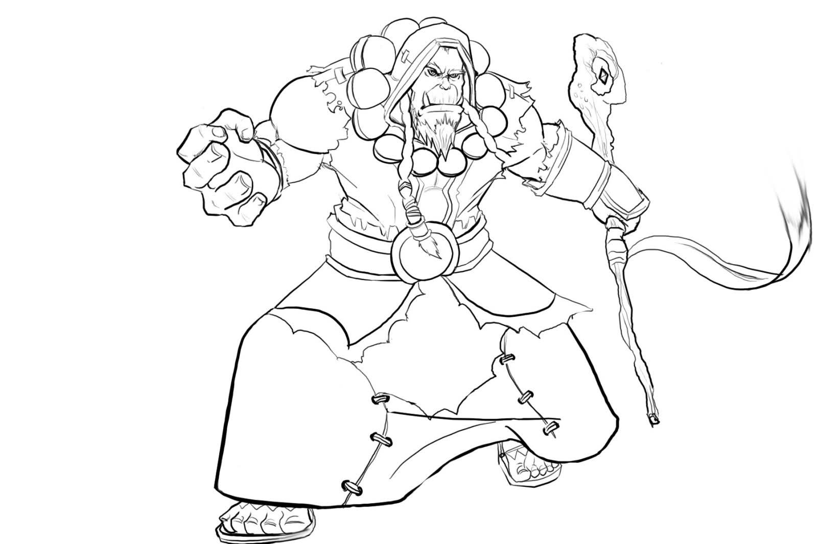 Warcraft coloring #13, Download drawings