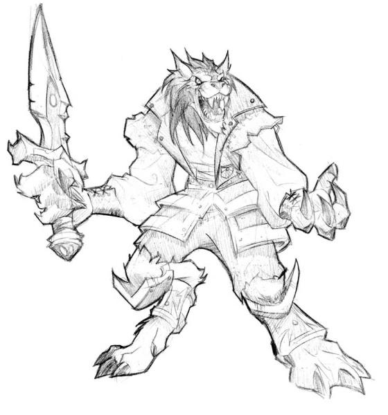 Warcraft 3 coloring #13, Download drawings
