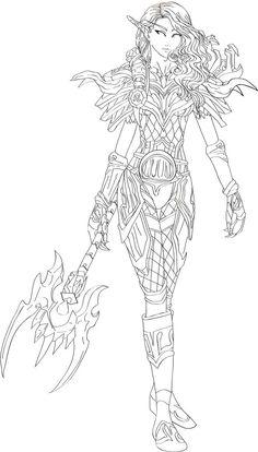 Warcraft coloring #8, Download drawings