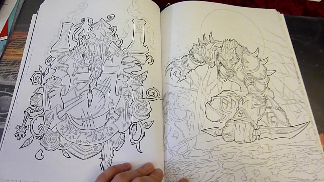 Warcraft coloring #9, Download drawings
