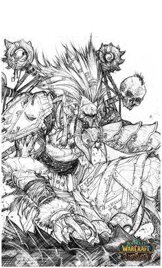 Warcraft coloring #3, Download drawings