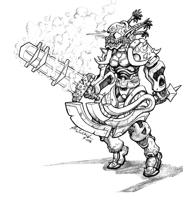 Warcraft coloring #5, Download drawings