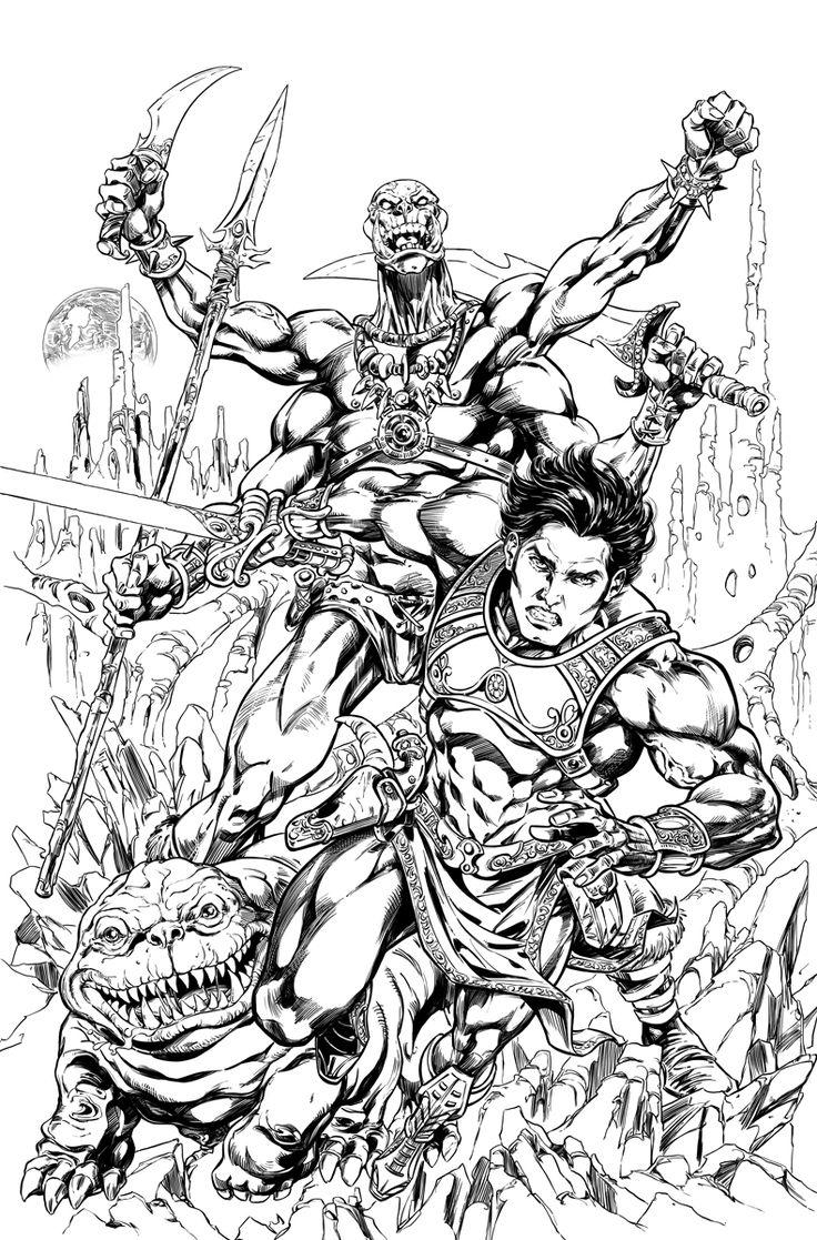 Warlord coloring #2, Download drawings