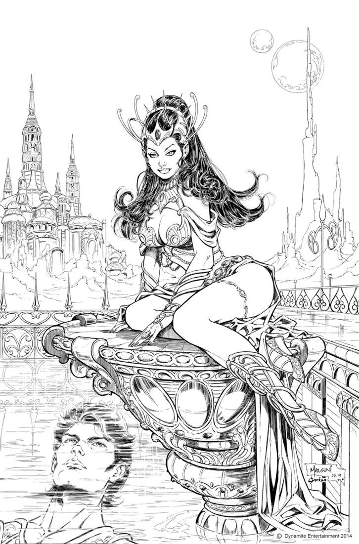 Warlord coloring #13, Download drawings