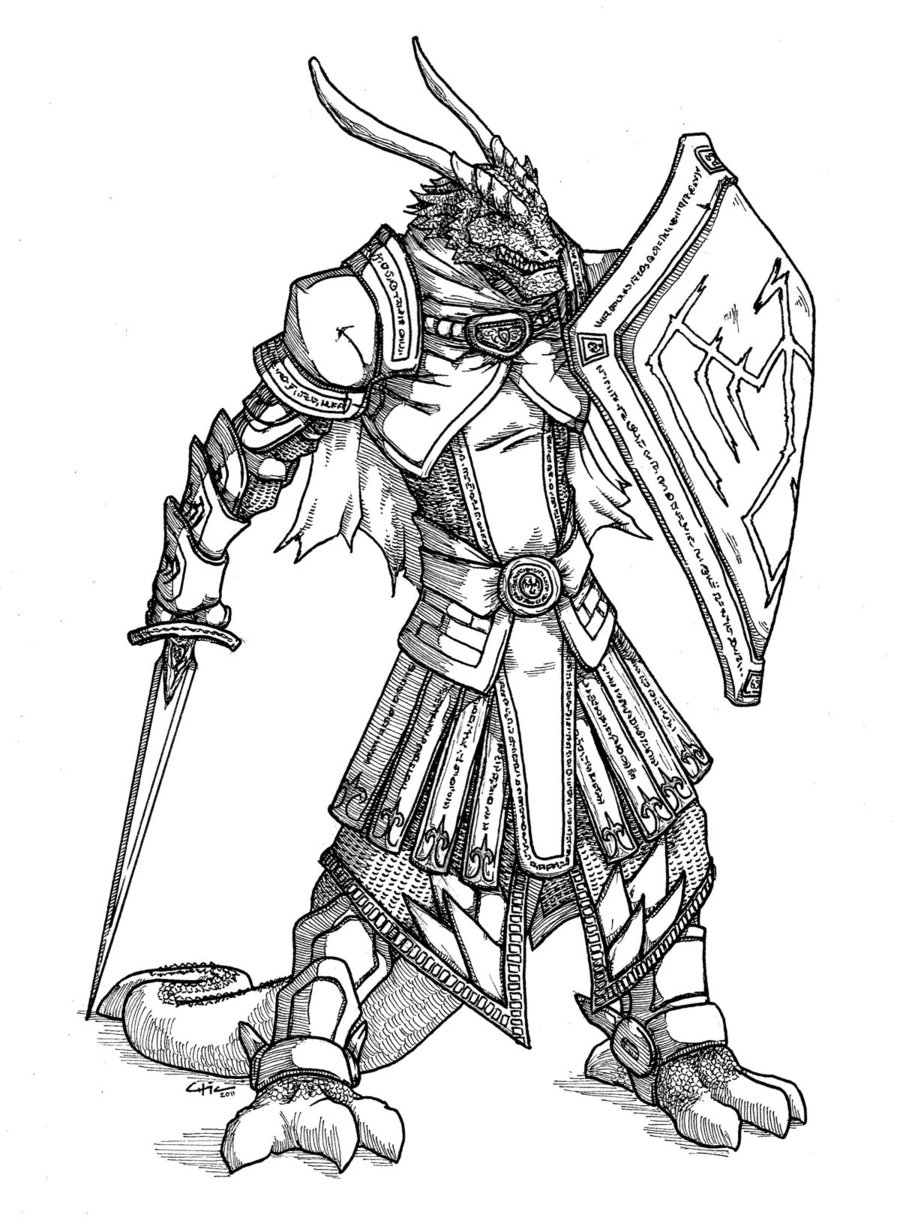 Warlord coloring #9, Download drawings