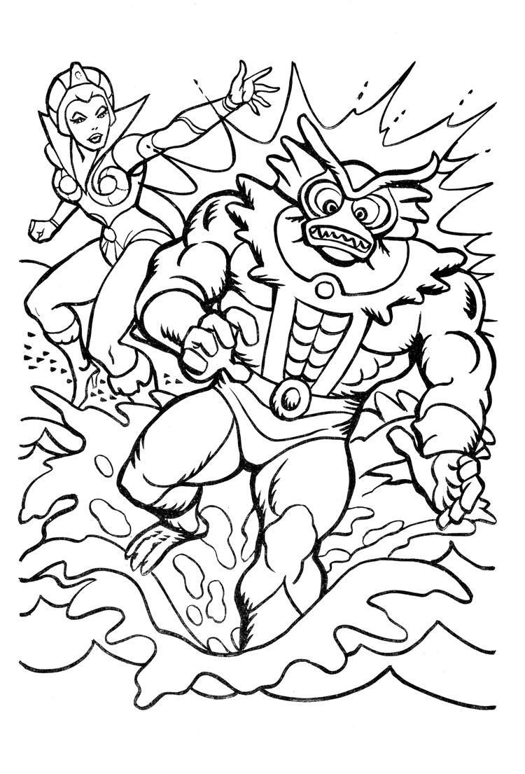 Warlord coloring #6, Download drawings
