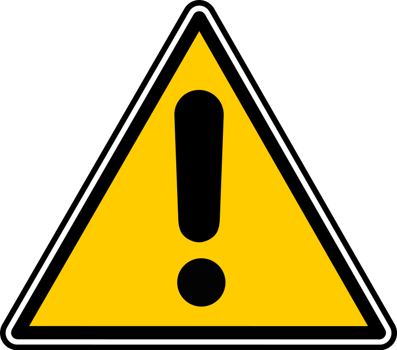 Warning clipart #16, Download drawings