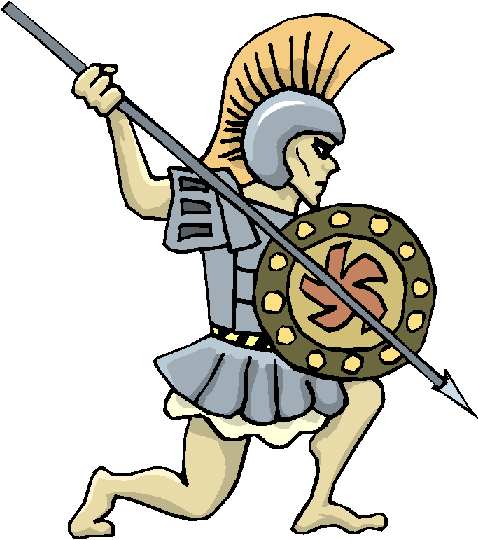 Warrior clipart #1, Download drawings