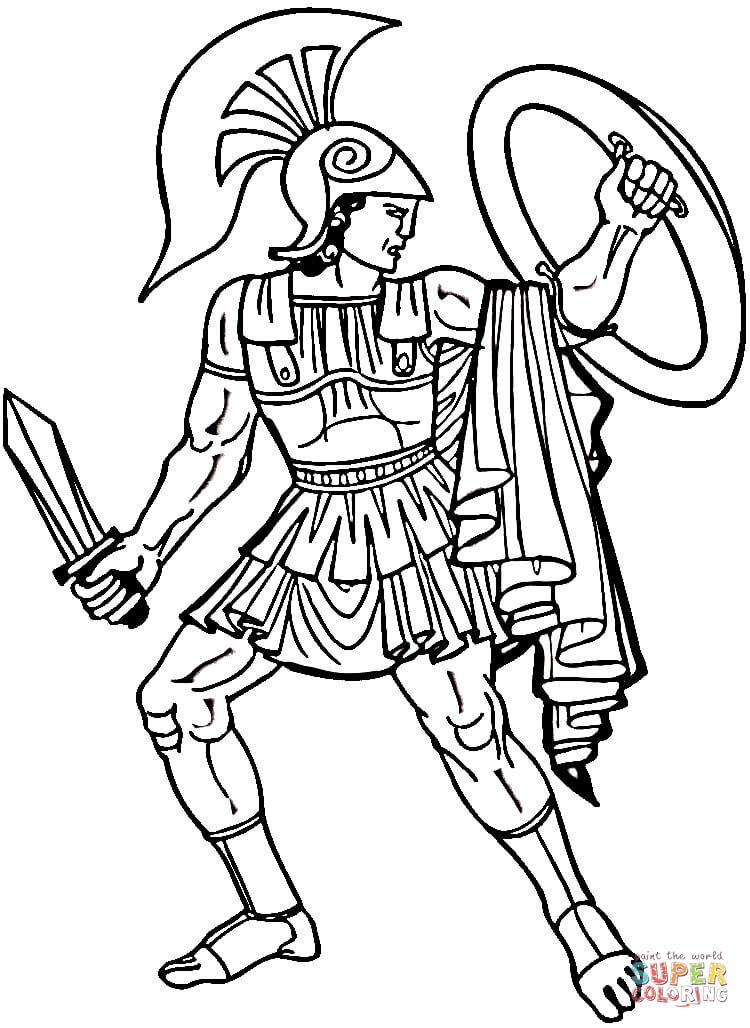 Greek coloring #8, Download drawings