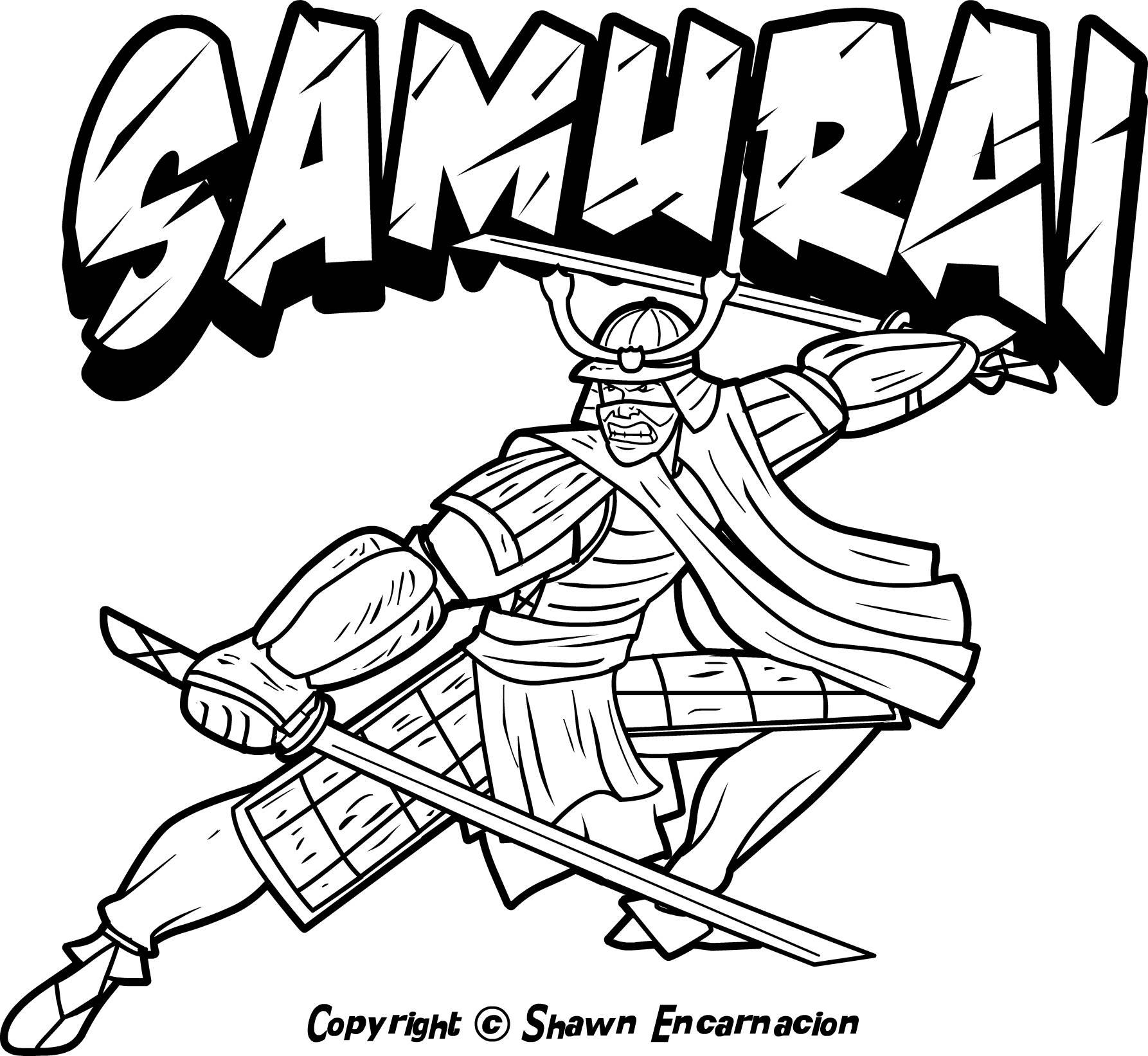 coloring pages of a samurai warrior | Warrior coloring, Download Warrior coloring for free 2019
