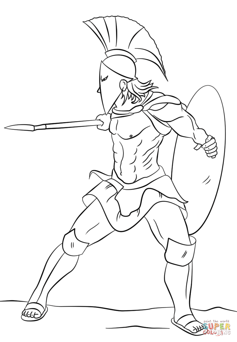 Sparta coloring #17, Download drawings