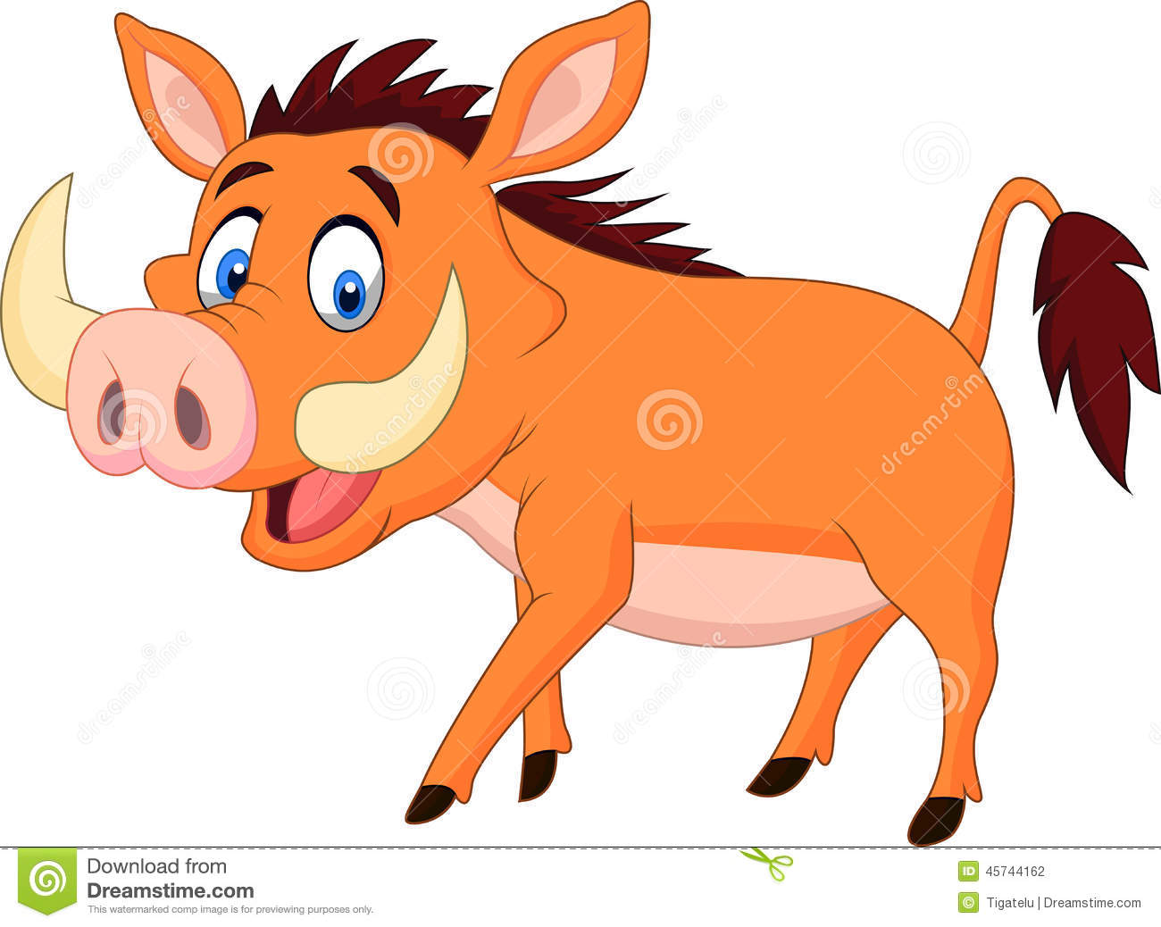 Warthog clipart #13, Download drawings