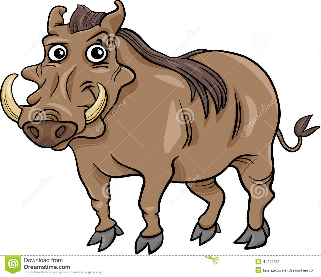 Warthog clipart #11, Download drawings
