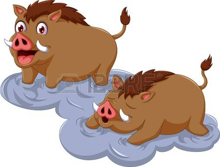 Warthog clipart #10, Download drawings
