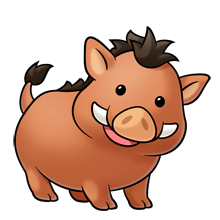 Warthog clipart #5, Download drawings