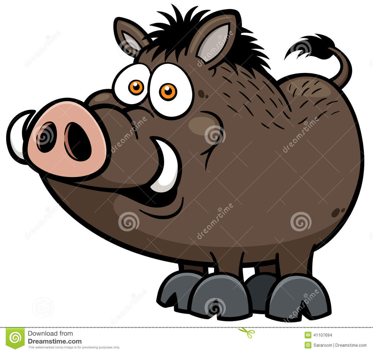 Warthog clipart #8, Download drawings
