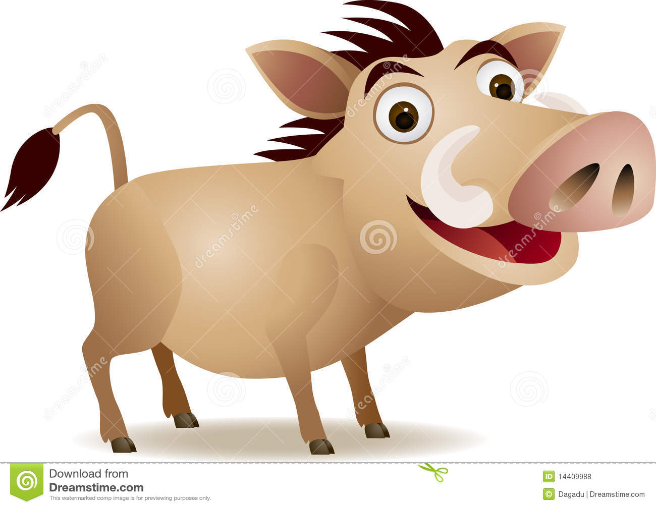 Warthog clipart #14, Download drawings