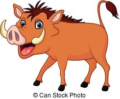 Warthog clipart #19, Download drawings