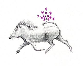 Warthog svg #14, Download drawings