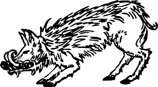 Warthog svg #11, Download drawings