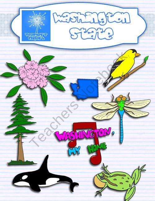 Washington State clipart #3, Download drawings