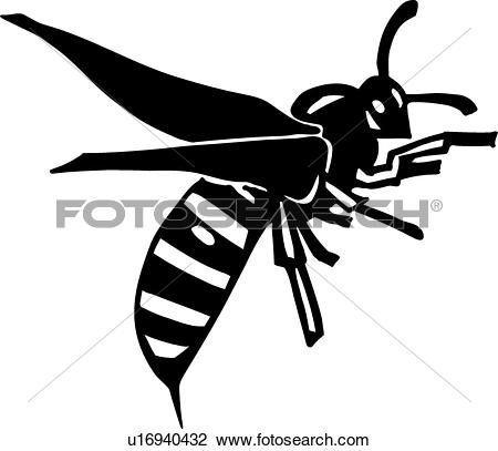 Wasp clipart #5, Download drawings