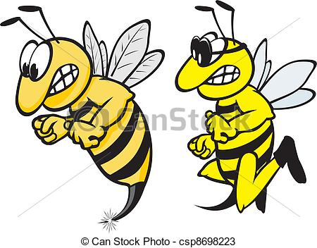 Wasp clipart #2, Download drawings